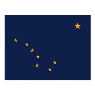 Flagga av Alaska Vykort
