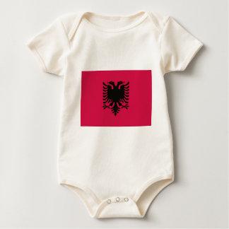 Flagga av Albanien Body