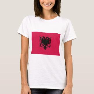 Flagga av Albanien T-shirt