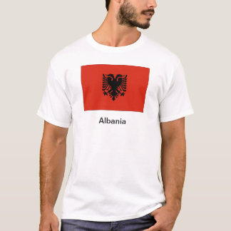 Flagga av Albanien T Shirts