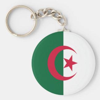 Flagga av Algeriet Nyckel Ring