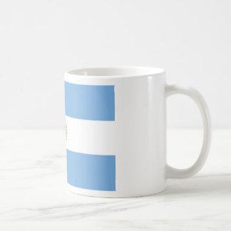 Flagga av Argentina - Bandera de Argentina Kaffemugg