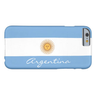 Flagga av Argentina Barely There iPhone 6 Fodral