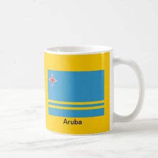 Flagga av Aruba Kaffemugg