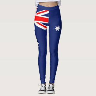 Flagga av Australien Leggings