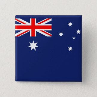 Flagga av Australien Standard Kanpp Fyrkantig 5.1 Cm