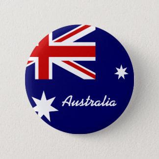 Flagga av Australien Standard Knapp Rund 5.7 Cm