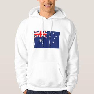 Flagga av Australien Sweatshirt Med Luva