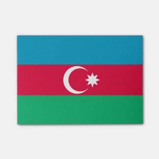 Flagga av Azerbajdzjan Postar-it® noterar Post-it Block