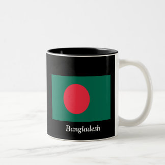 Flagga av Bangladesh Två-Tonad Mugg