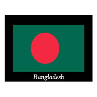 Flagga av Bangladesh Vykort