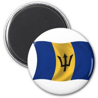 Flagga av Barbados Magnet