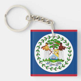 Flagga av Belize