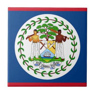 Flagga av Belize Kakelplatta