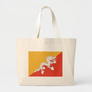 Flagga av Bhutan Tote Bags
