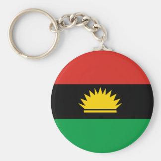 Flagga av Biafra (Bịafra) Rund Nyckelring