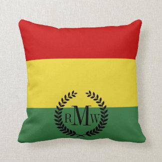 Flagga av Bolivia Kudde