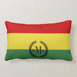 Flagga av Bolivia Lumbarkudde