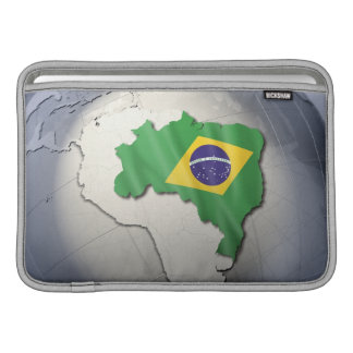 Flagga av Brasilien MacBook Air Sleeve