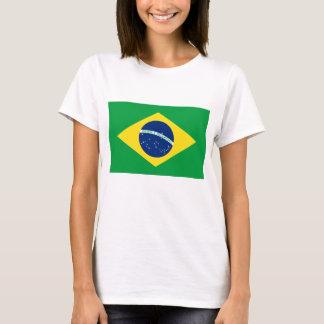 Flagga av Brasilien Tee Shirt