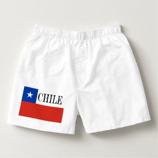 Flagga av Chile Boxers