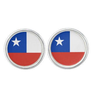 Flagga av Chile Cufflinks