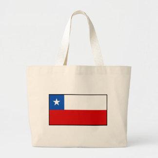 Flagga av Chile Jumbo Tygkasse