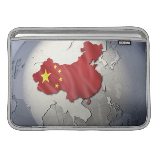 Flagga av chinan MacBook sleeve