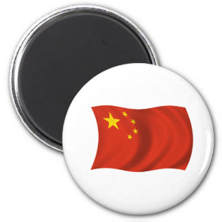 Flagga av chinan magnet