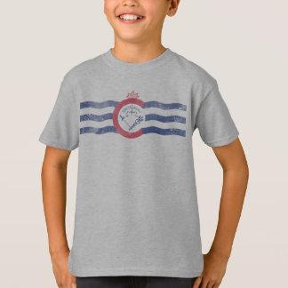 Flagga av Cincinnati Ohio T Shirt