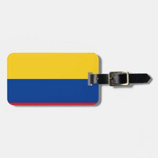 Flagga av Colombia - Bandera de Colombia Bagagebricka