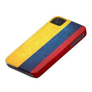 Flagga av Colombia iPhone 4 Case-Mate Skal