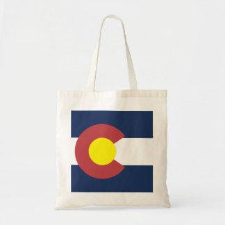 Flagga av Colorado Budget Tygkasse