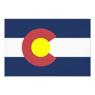 Flagga av Colorado Fotografier