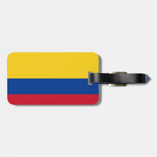 Flagga av Columbia Bandera De Colombia Bagagebricka