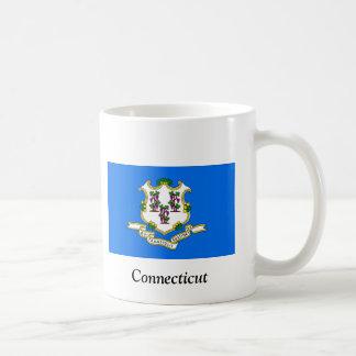 Flagga av Connecticut Kaffemugg