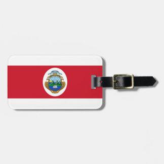 Flagga av Costa Rica Bagagebricka