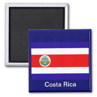 Flagga av Costa Rica Magnet