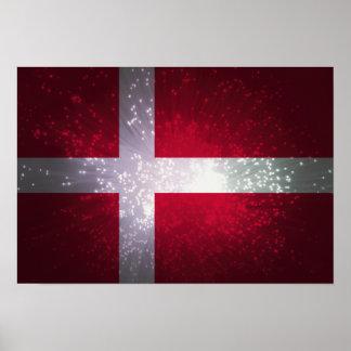 Flagga av Danmark Affischer