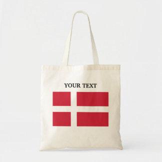 Flagga av Danmark Budget Tygkasse