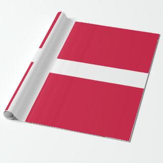 Flagga av Danmark eller danskatrasan Presentpapper