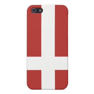 Flagga av Danmark iPhone 5 Fodraler