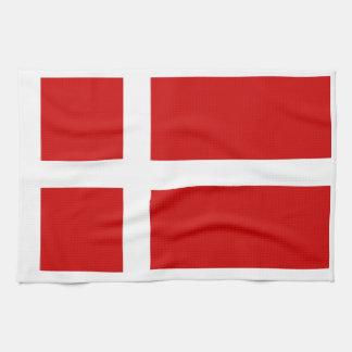 Flagga av Danmark Kökshandduk