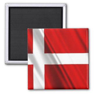 Flagga av Danmark Magnet För Kylskåp