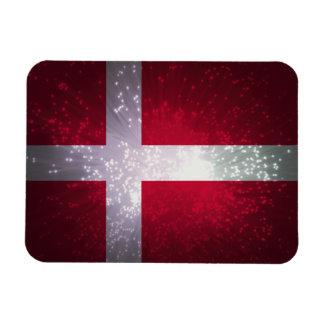 Flagga av Danmark Magnet