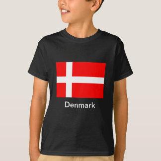 Flagga av Danmark T-shirt
