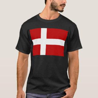 Flagga av Danmark T-shirts