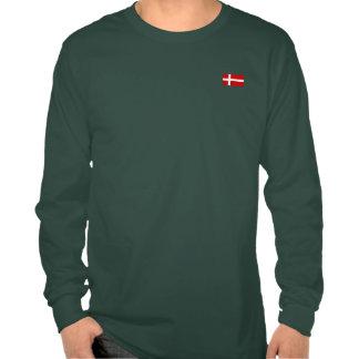Flagga av Danmark Tshirts