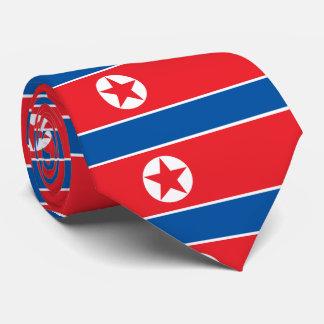 Flagga av Democraticet Peoples Republic of Korea Slips