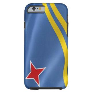 Flagga av den Aruba iPhonen 6 Tough™ Tough iPhone 6 Fodral